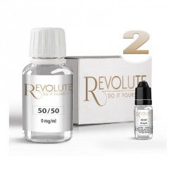 Pack 100ml Base Révolute 50%PG / 50%VG