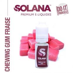 Arôme Chewing Gum Fraise 10ml Solana