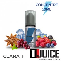 Arôme concentré Clara T Tjuice 10ml