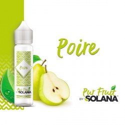 E-liquide Pur Fruit Poire 50ml Solana