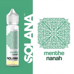 E-liquide Menthe Nanah 50ml Solana