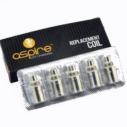 Pack de 5 résistances Aspire BDC dual coil