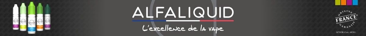 Alfaliquid e-liquide