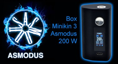 Box Minikin 3 Asmodus 200 W